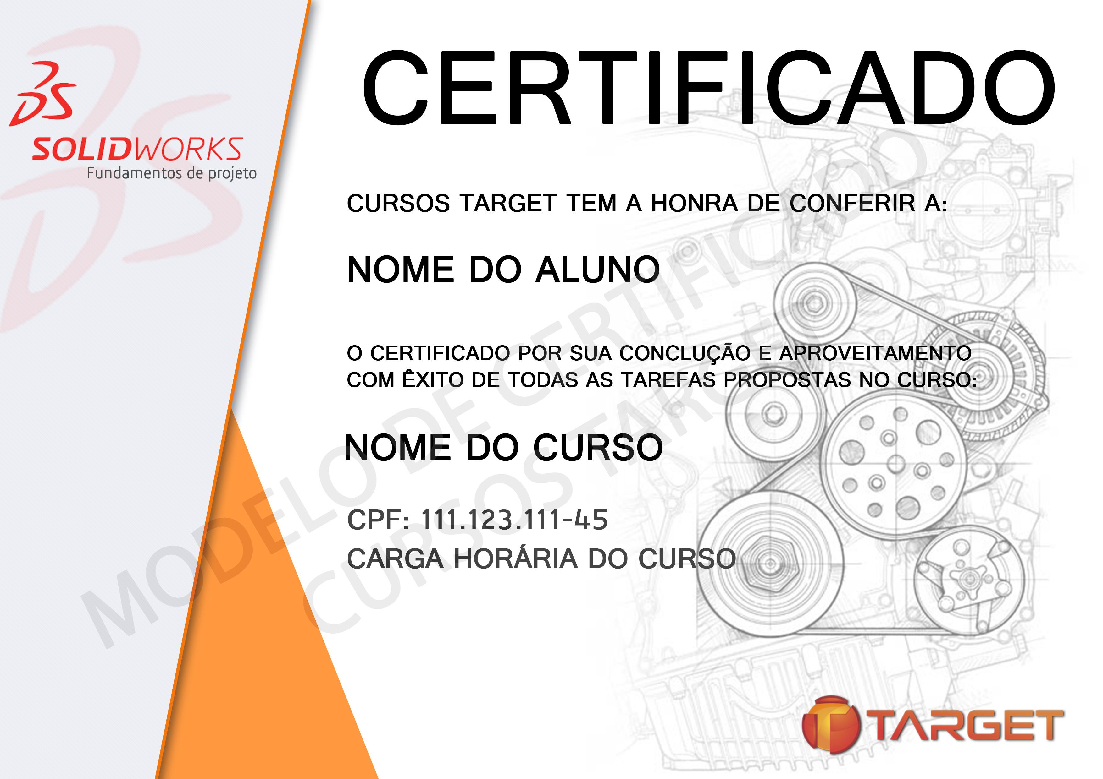 Certificado do Curso