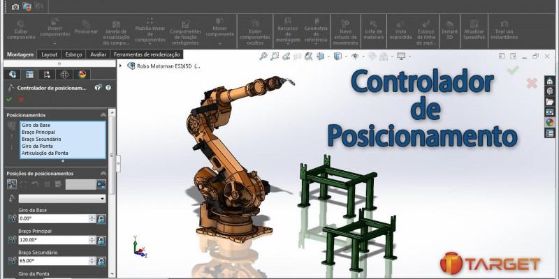 SolidWorks 2016 - Controlador de Posicionamento