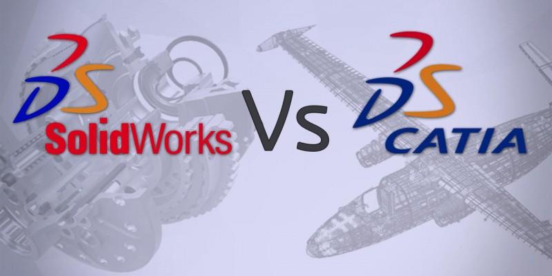 SolidWorks ou CATIA V5?