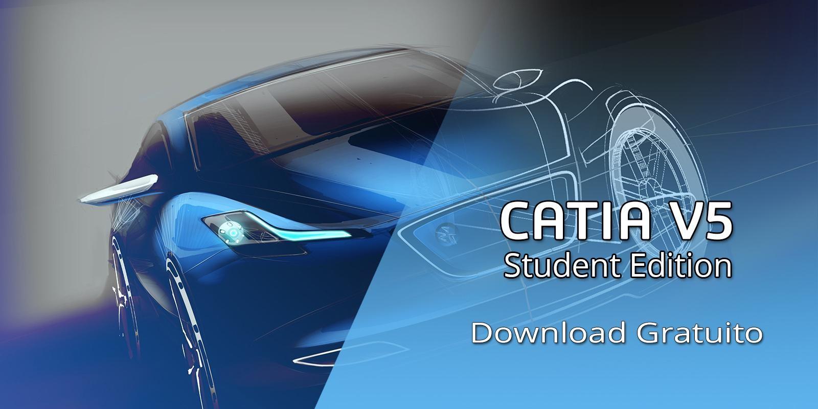 CATIA V5 Student Edition Grátis