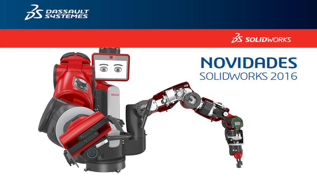 Novidades SolidWorks 2016